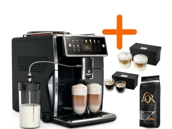 Philips Saeco Espressomachine (SM7580/00) + Koffiepakket* bij 999 ING rente punten en €729 euro