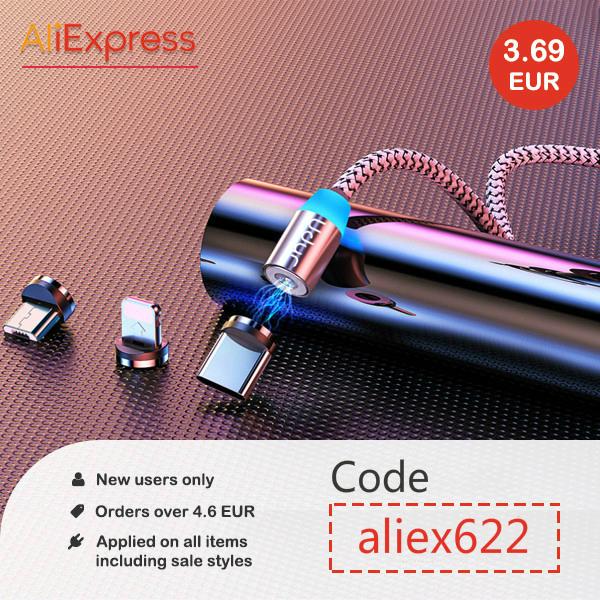 Kortingscode AliExpress €3,37