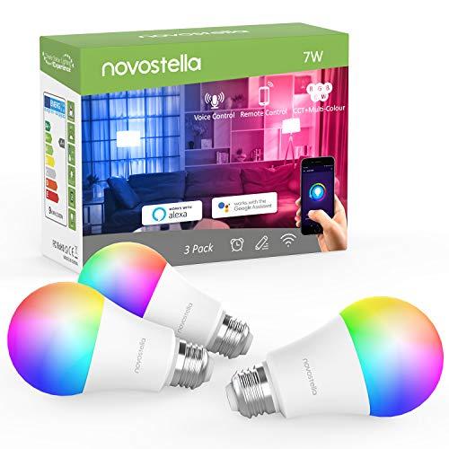 RGB Novostella Wi-Fi lampen (3 Stuks) @ Amazon.de