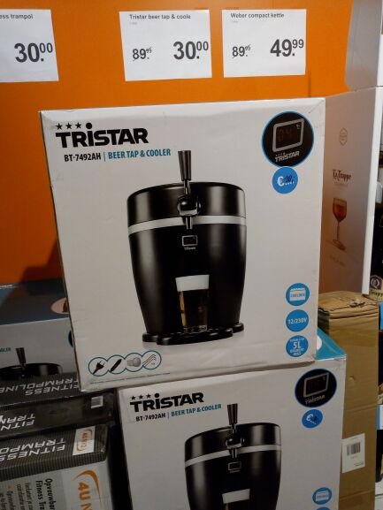 Beer tap & Cooler Tristar BT-7492AH