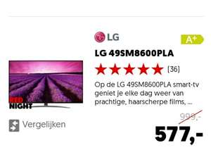 [Mediamarkt] LG 49sm8600pla