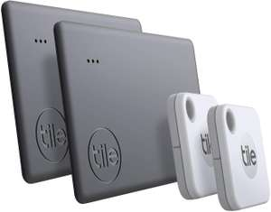 Tile Mate+ & Slim II (2020) 4-pack voor €28,42 @ Amazon.nl
