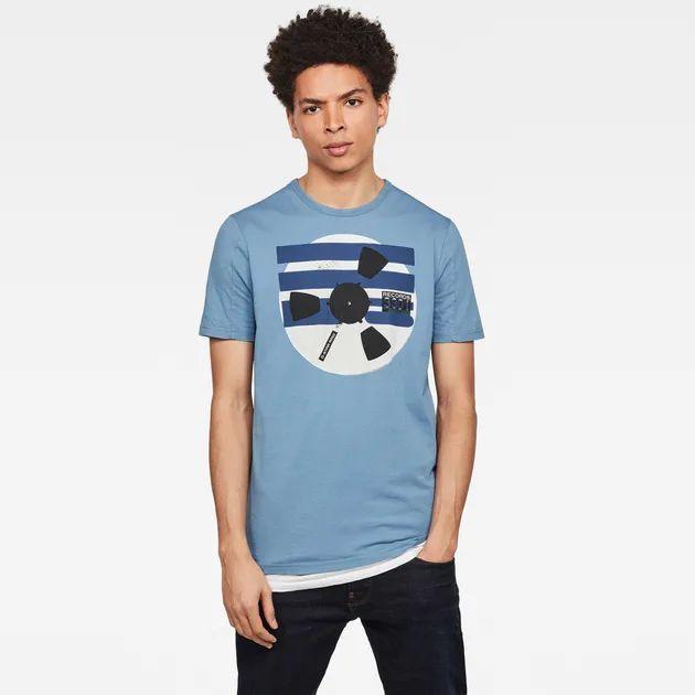 G-Star Raw Record Reel GR Slim T-Shirt