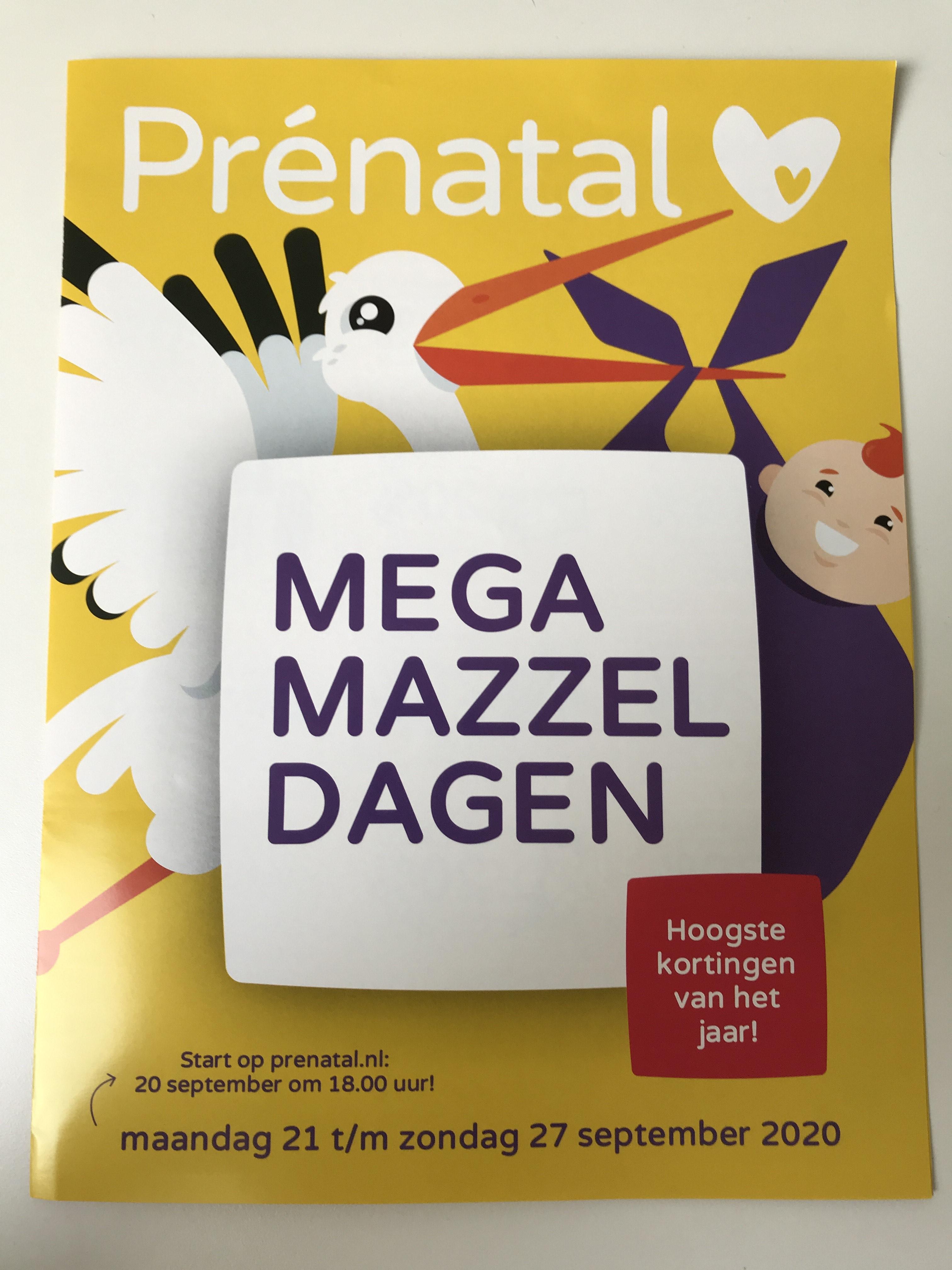 Prénatal Mega Mazzel Dagen