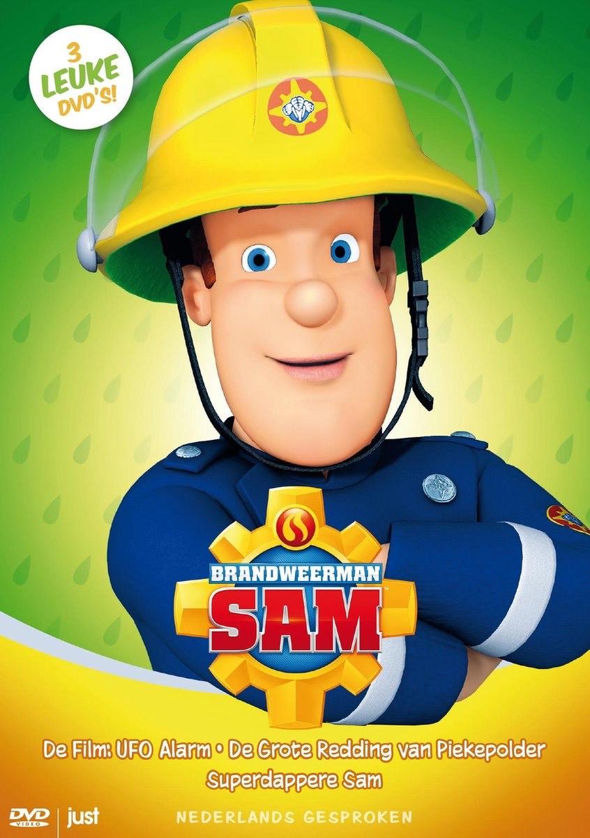 Brandweerman Sam - 3 DVD Boxset @ Bol.com