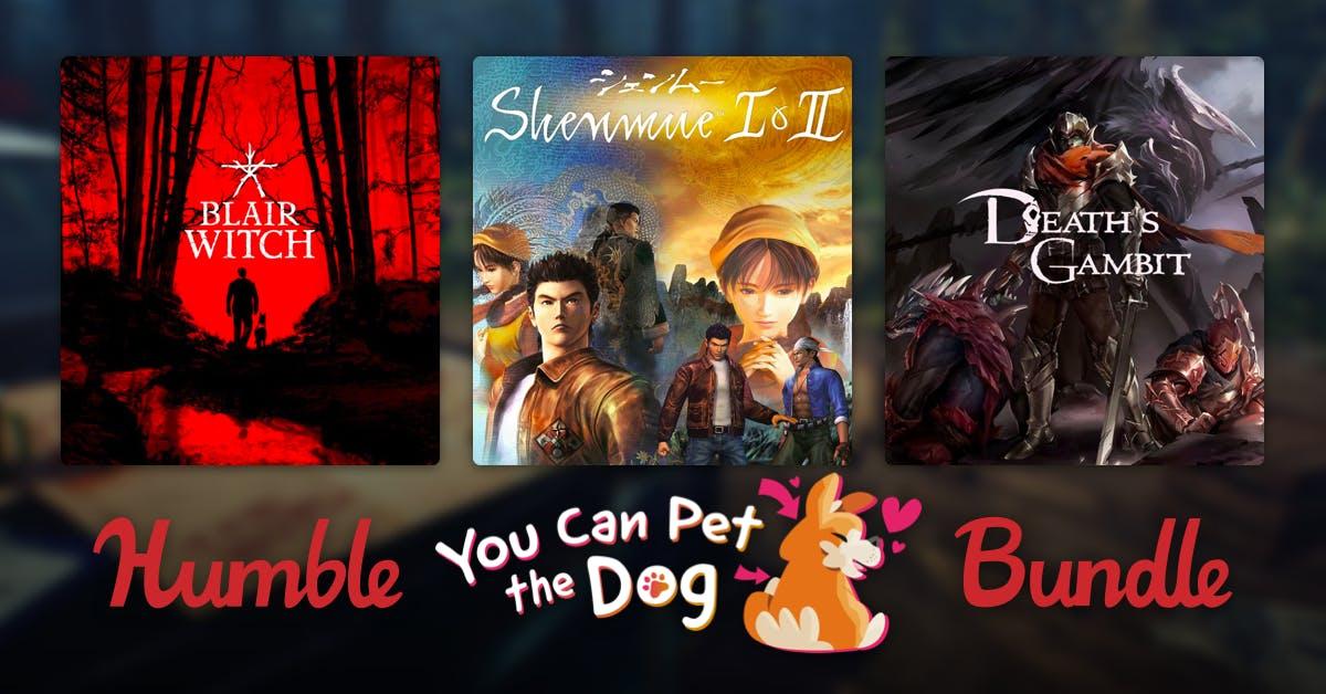 Humble You Can Pet the Dog Bundle met o.a.: Scribblenauts Unlimited, Beyond Eyes, Shenmue I & II en meer