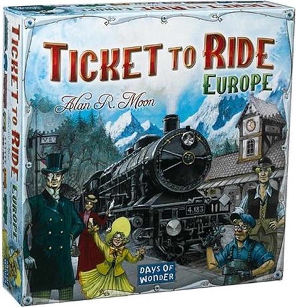 Ticket to Ride Europe €31,99 bordspel || @Bol.com