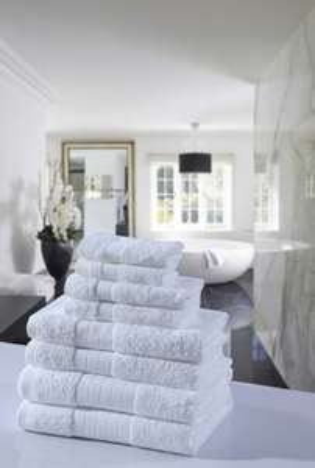 Luxe 8-delige handdoeken van Muller Textiles