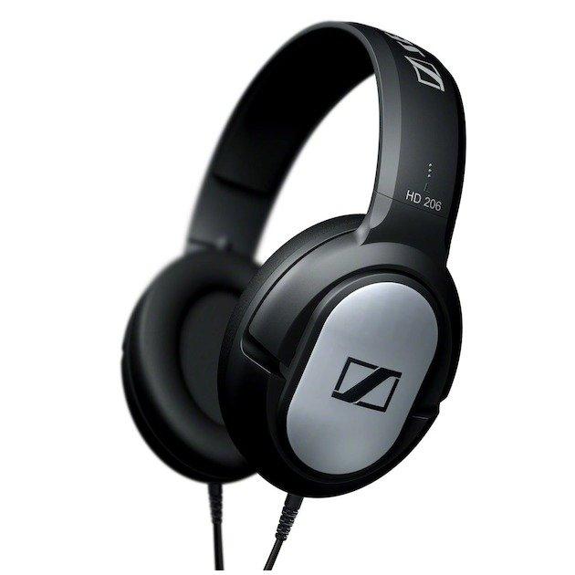 SENNHEISER HD 206 ZWART Over-ear hoofdtelefoon