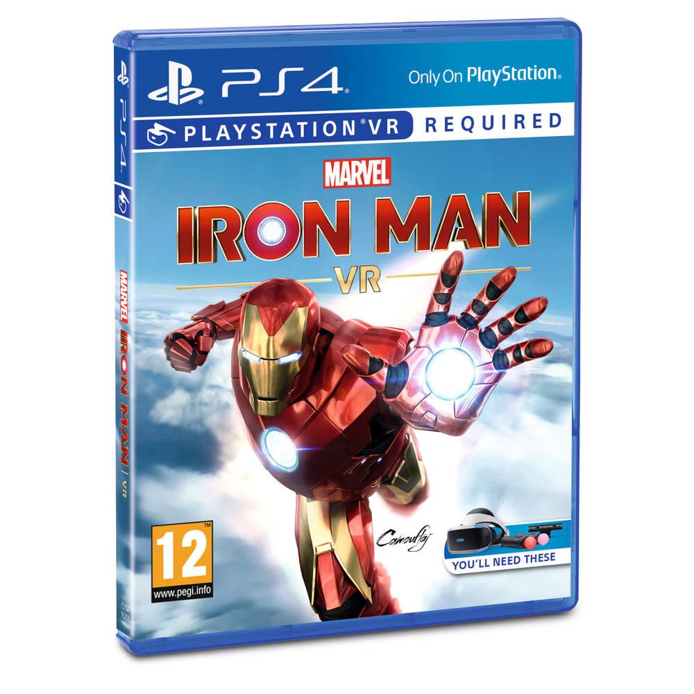 PS4 Marvel's Iron Man VR voor €19.99 Intertoys weekendaanbieding