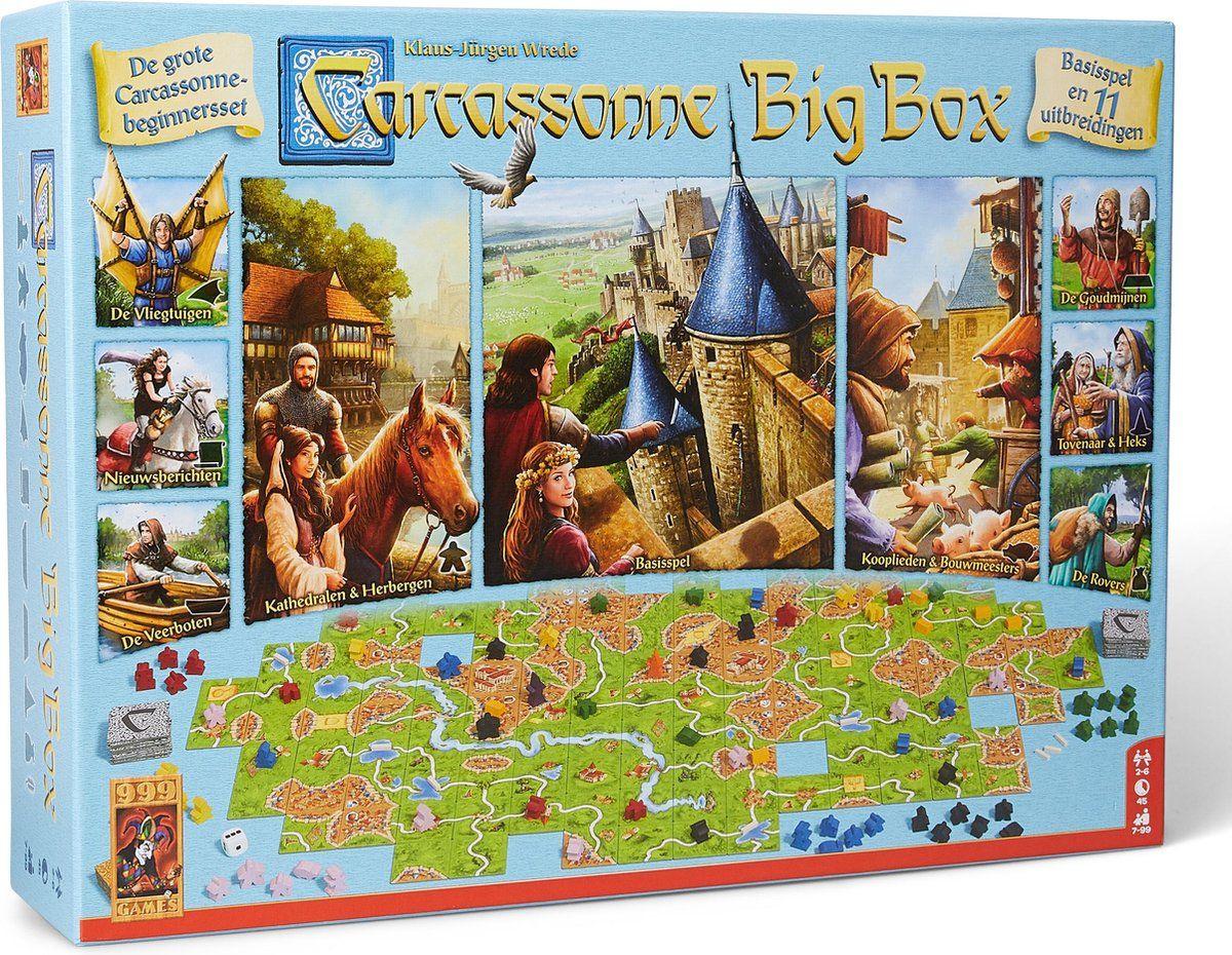 [Select] Carcassonne big box 999 games @bol.com