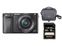 Sony A6000 Systeemcamera + 16-50mm f/3.5-5.6 Kit @ Media Markt