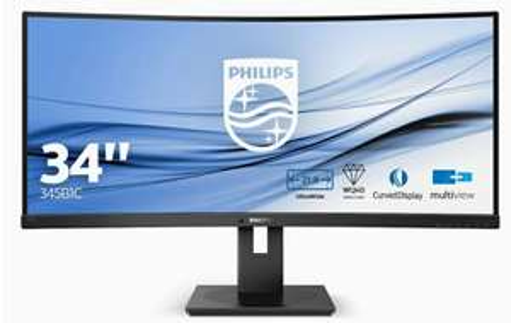 "Philips 345B1C/00 (34"" curved, 3440x1440, 100Hz, 5ms, VA, FreeSync)"