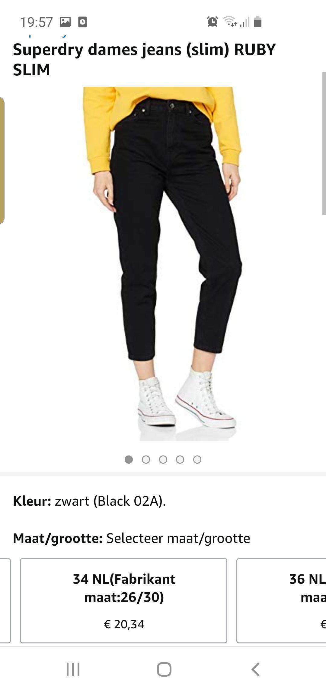 Superdry dames jeans