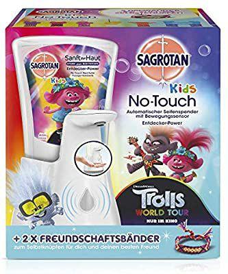 (3+1 actie > combineren mogelijk) Dettol / Sagrotan No Touch zeepdispenser + navulling