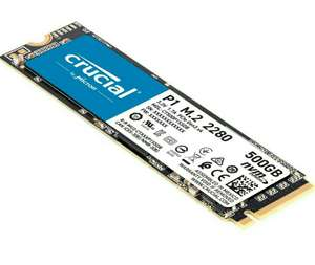 Crucial nvme m.2 SSD 500 gb