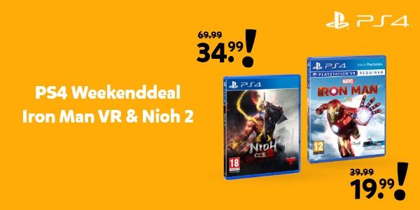 PS4 weekend deal bij intertoys!
