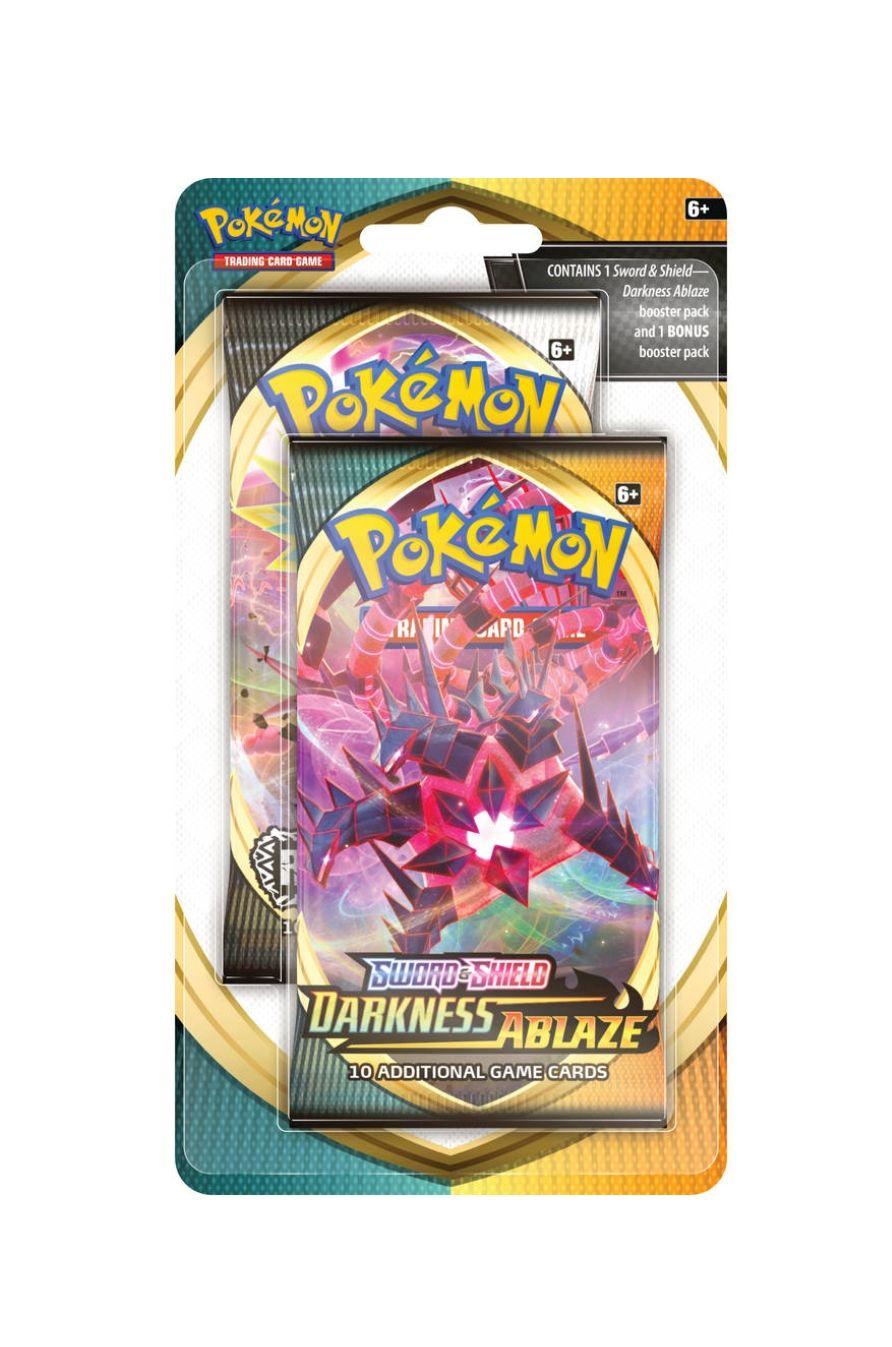 Twee pakjes sword en shield Pokémon kaarten voor de prijs van één