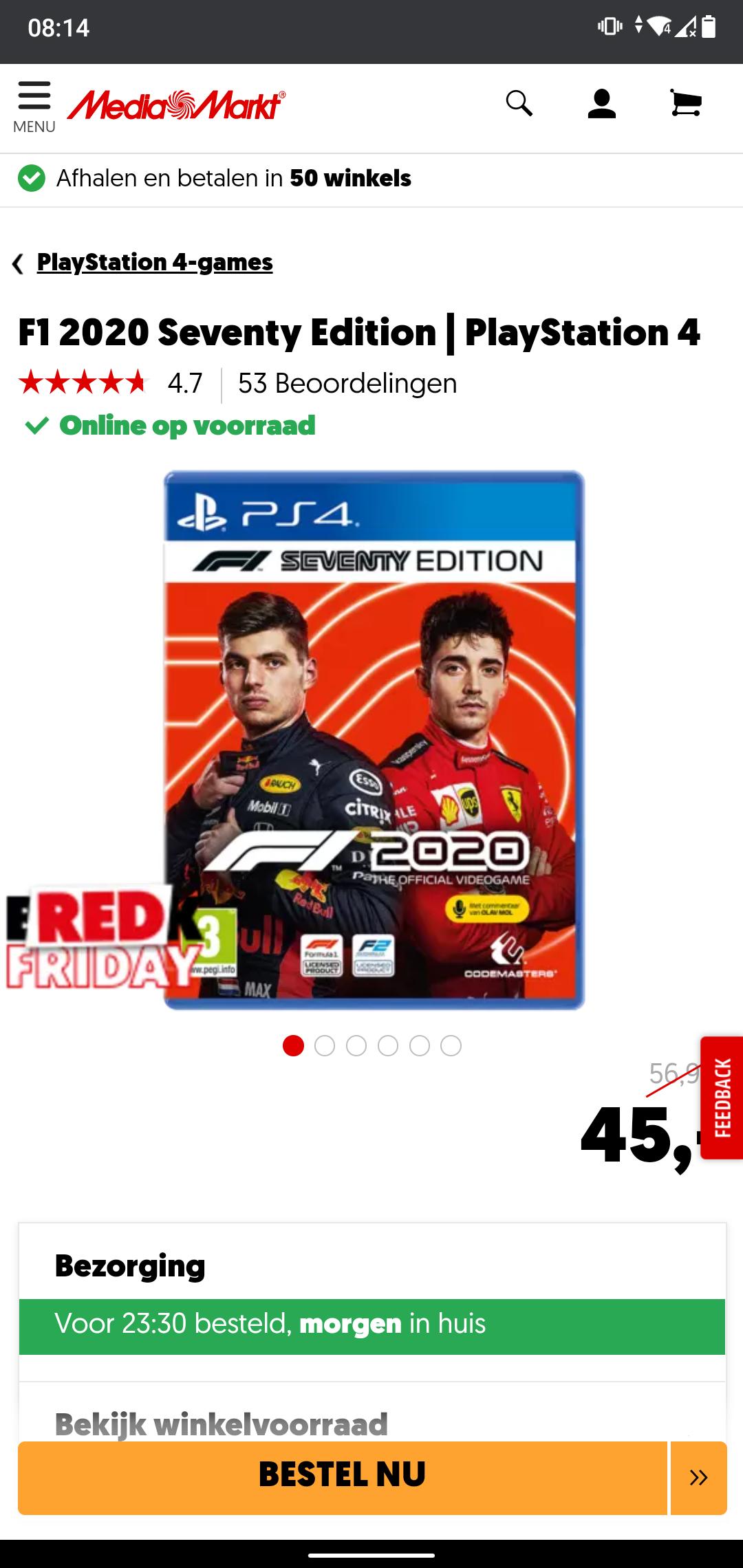 F1 2020 Xbox/ps4