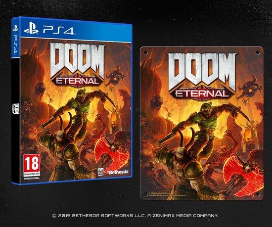 PS4/XBOX/PC Doom Eternal - Special Edition - Inclusief bol.com exclusieve metal plate