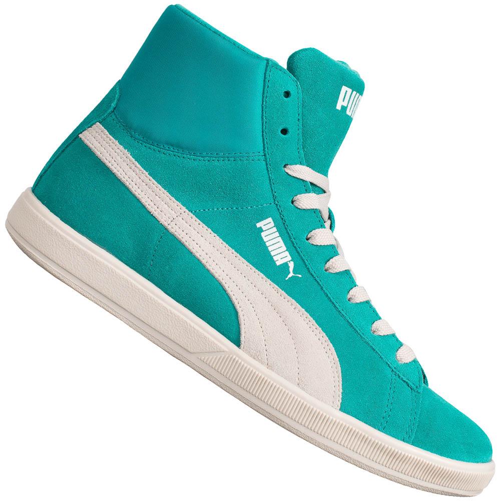 PUMA Lite Mid suède sneakers [M/V] @ Sport-Korting