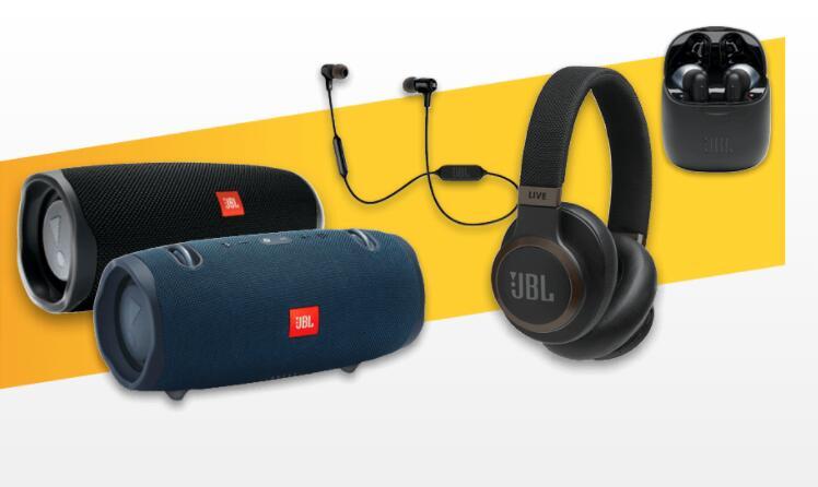 20% korting op JBL koptelefoons en bluetooth speakers @ Expert