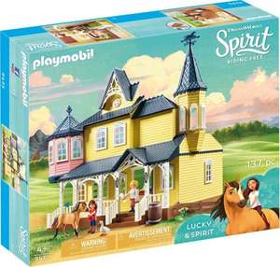 Playmobil 9475 Spirit Lucky's House