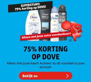 Dove (Men) Original en Clean Comfort -75% @Kruidvat (met account)