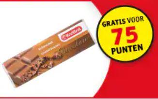 Gratis producten (bijv. chocola) bij inlevering van punten @ Kruidvat