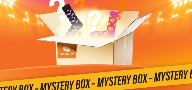 Mystery Box t.w.v. €44,07* voor €10,99 met één paar Happy Socks