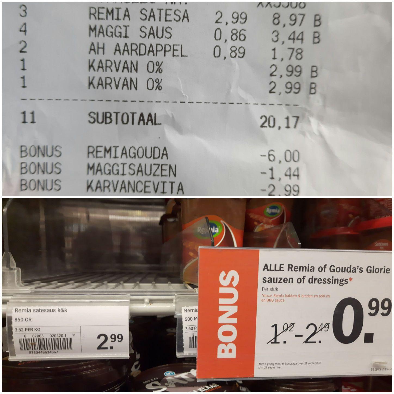 Remia Satésaus K&K 850 ml
