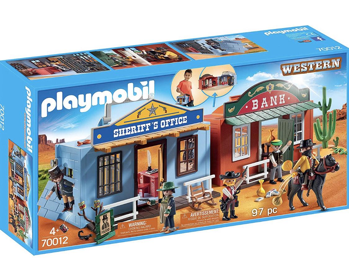 Playmobil Western meeneemkoffer 70012
