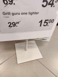 Grill guru one lighter @Albert Heijn XL Arnhem Kronenburg