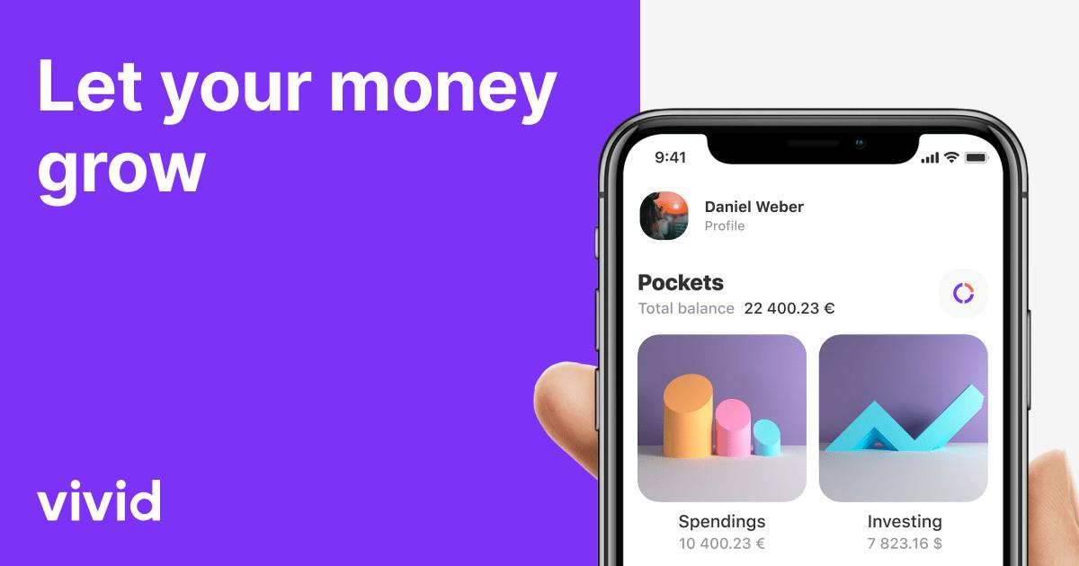 [Gratis Geld] 50,- bij Vivid Bankrekening met cashback bijvoorbeeld 10% Lidl/Aldi