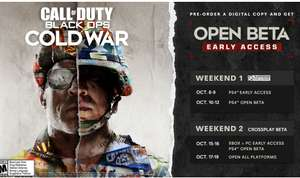 Call of Duty Cold War. Beta gratis speelbaar
