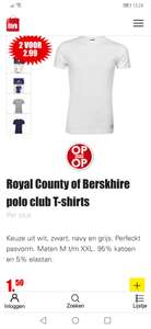 Royal County of Berskhire polo club T-shirts