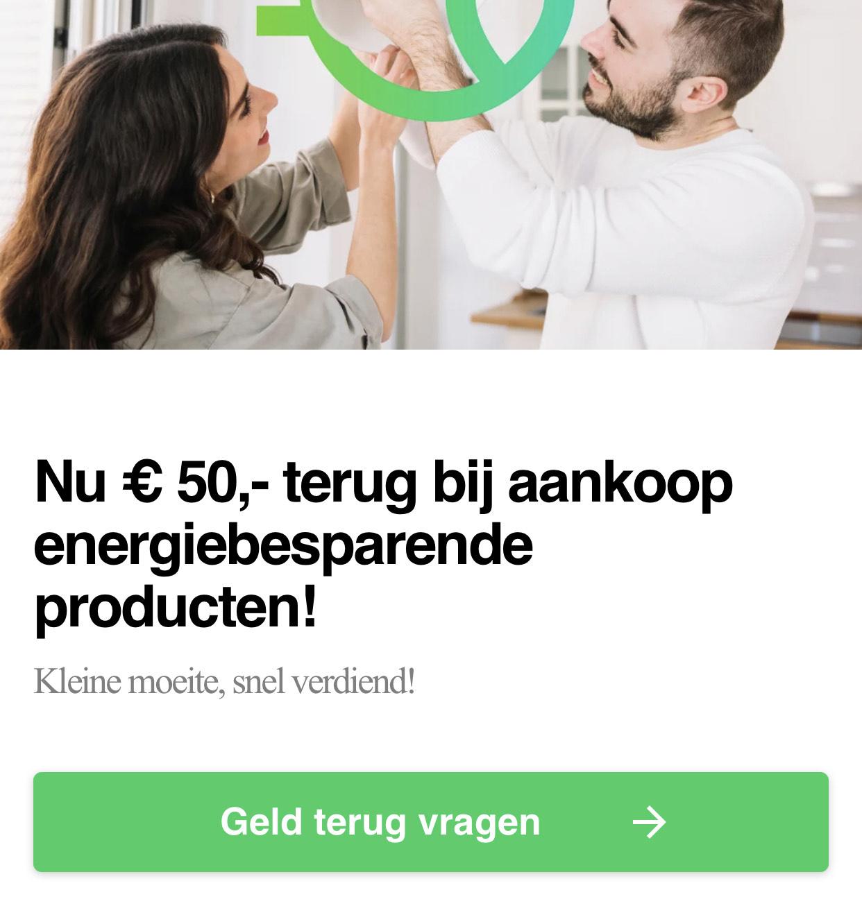 [Lokaal/Twente] € 50,- terug bij aankoop energiebesparende producten! O.a Philips Hue