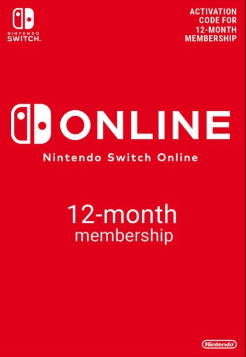 Nintendo Switch Online 12 maanden @CDKeys