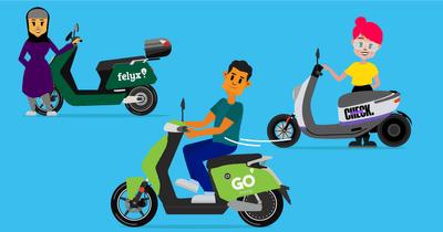 Gratis 45 min E-scooter uitproberen in o.a. Den Haag, Rotterdam, Delft, Lansingerland, Schiedam, Vlaardingen, Hoek van Holland, Barendrecht