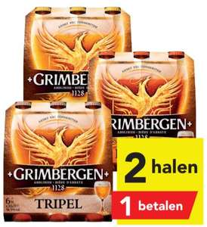 Grimbergen abdijbier alle soorten 2 halen 1 betalen @Deen