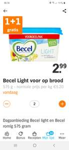 Becel light 575g