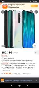 Xiaomi Redmi Note 8 Pro Global Version 128/6GB+NFC