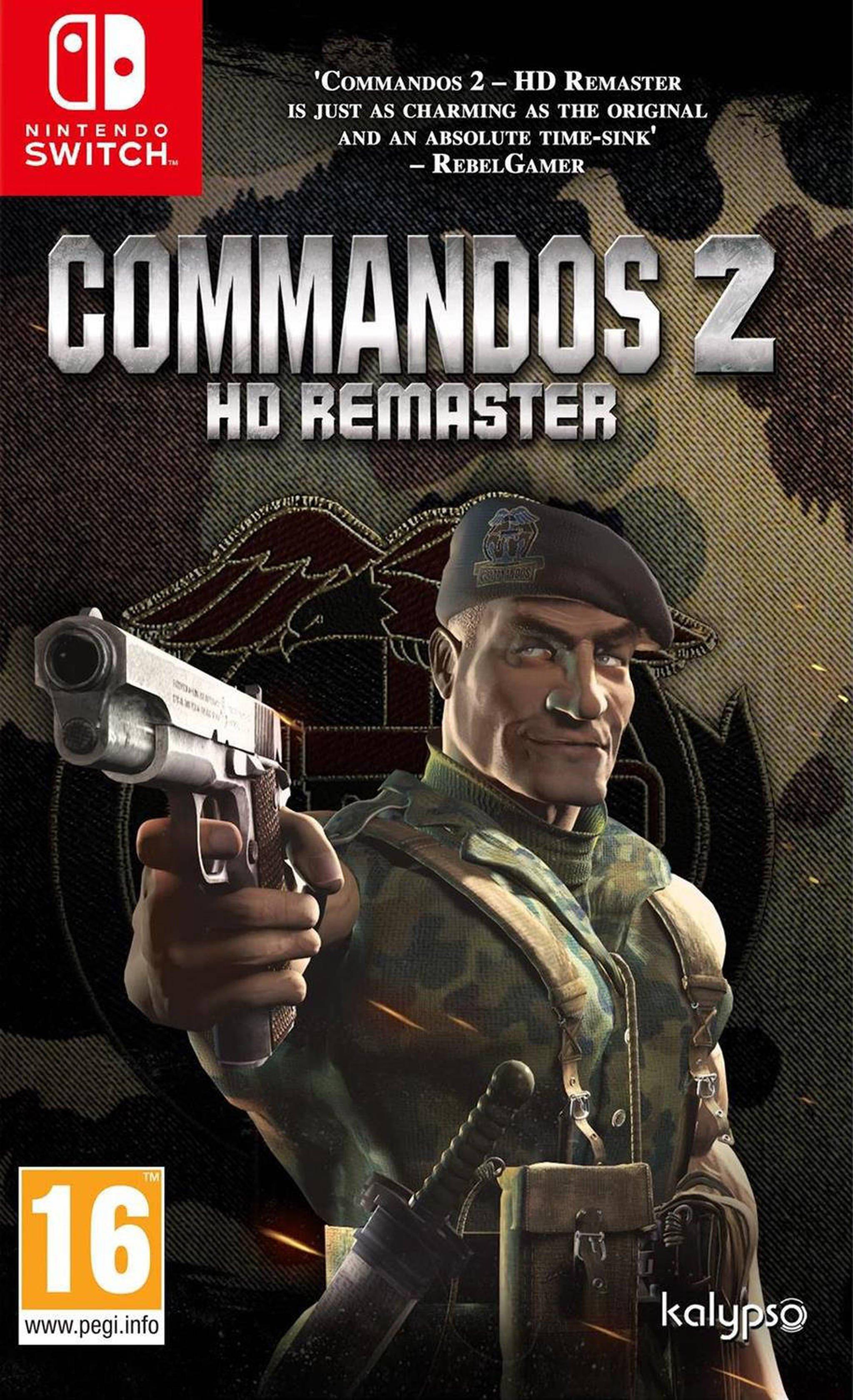 Commandos 2 HD Remaster (Nintendo Switch)