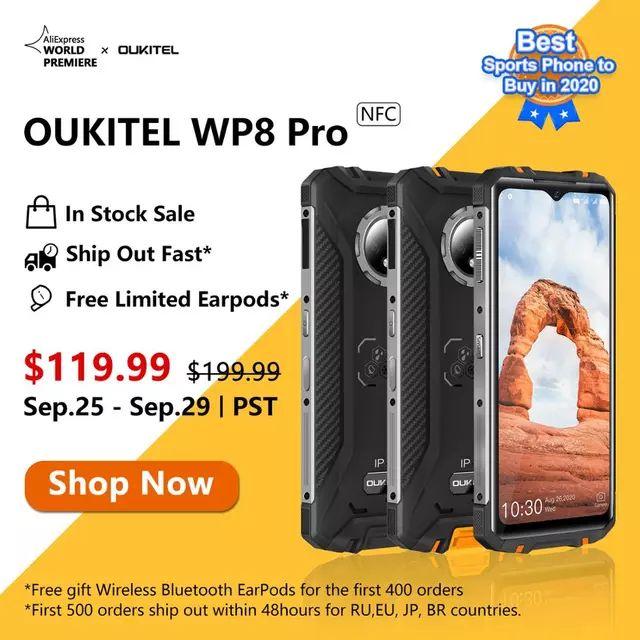 Oukitel WP8 PRO Smartphone