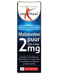 Melatonine 2 mg 30 zuigtabletten 4+8