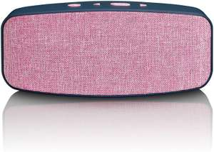 Lenco Bluetooth luidspreker BT-130 roze @ Amazon.nl