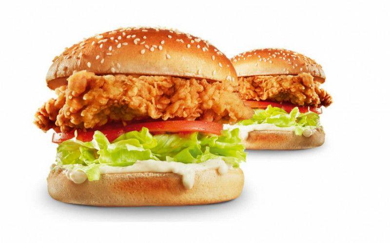 2 Zinger burgers voor €6 en 8 Hotwings voor €4 met de KFC app.