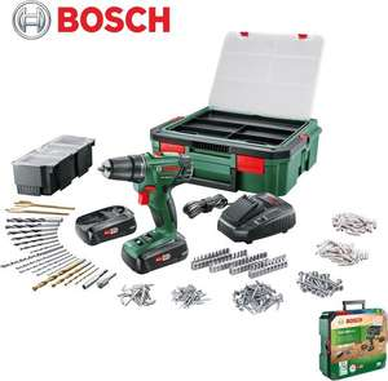 Bosch PSR1800 LI-2 met 241 delige systeemkoffer @ Gamma