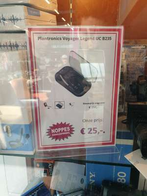 Lokaal?: Plantronics voyager legend UC B235 @Noppes in Purmerend