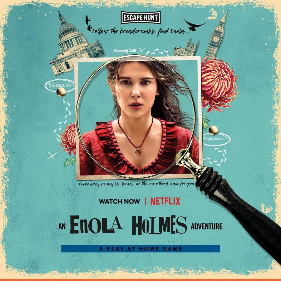 Gratis escape spel Enola Holmes